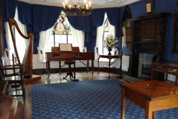 Inside Plas Newydd House