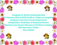 Llangollen and District Gardening Club