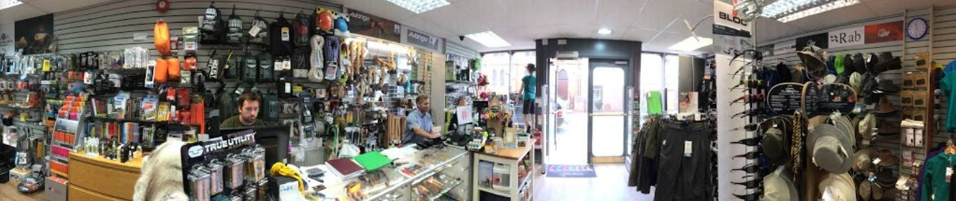Pro Adventure shop Llangollen