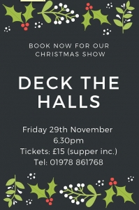 Deck the Halls: The Collen Players Christmas Show
